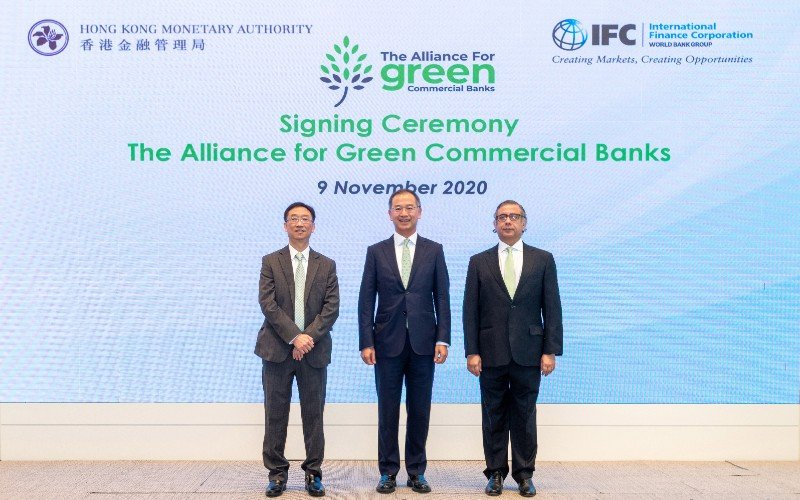 International Finance Corporation And The Hong Kong Monetary Authority Launch New Alliance To Address Climate Change Hk Green Finance Association